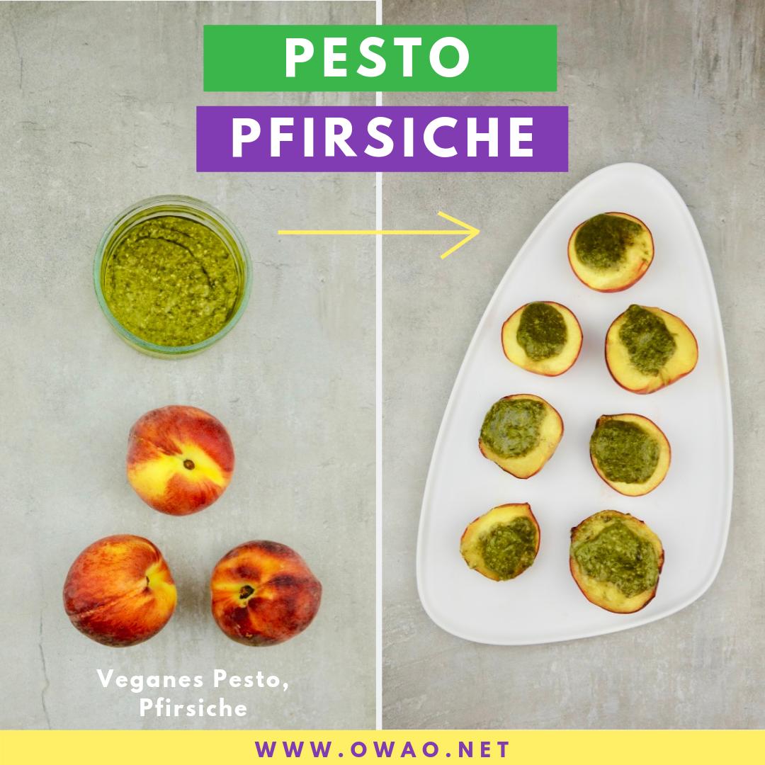 Pesto Pfirsiche-OWAO-Ernährung-für-Vielbeschäftigte
