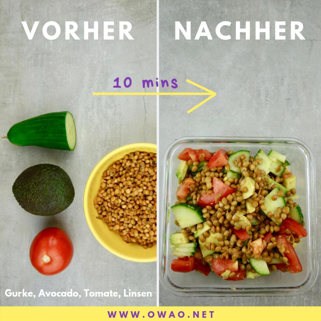 Vegane Proteinquellen-Eiweißreiche Lebensmittel-OWAO-Ernährung für Vielbeschäftigte