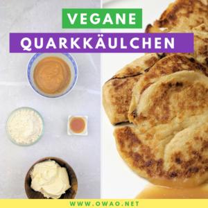 Vegane Quarkkäulchen