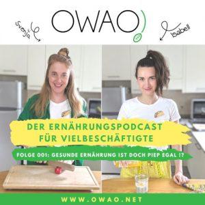 Gesunde Ernährung-vegane Ernährung-Meal Prep-Meal Prep vegan-OWAO!-Podcast