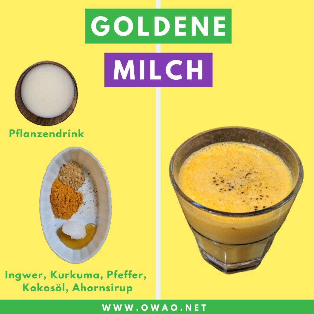 Goldene Milch Wirkung-Rezept-OWAO!-Meal Prep-Gegen Erkältung-Herbst-Winter-Ayurveda