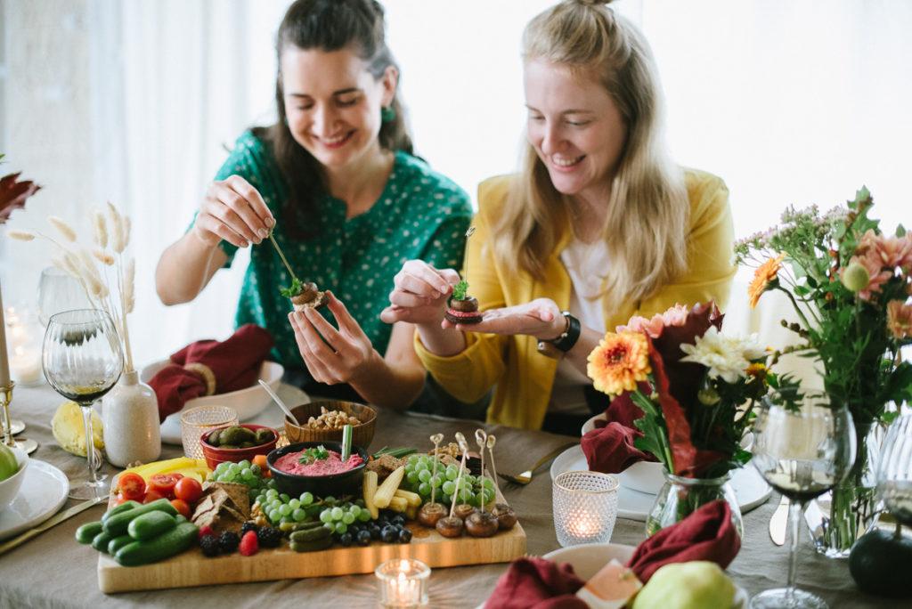 Herbstrezepte-Snackplatte-OWAO-Ernährung für Vielbeschäftigte