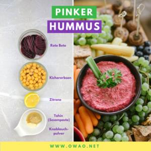 Pinker Hummus-OWAO!-Meal Prep