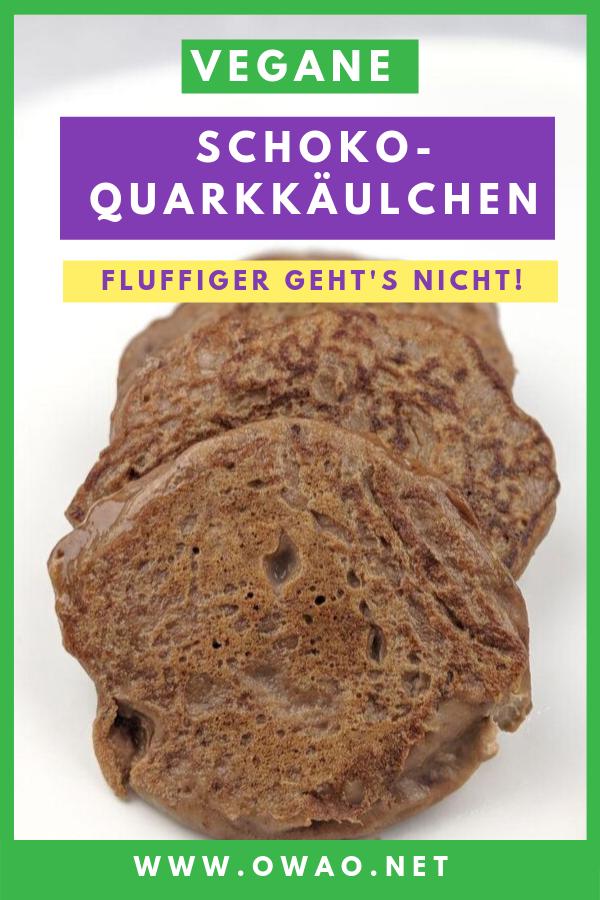 Vegane-Schokoquarkkäulchen-Quarkkaeulchen-Schoko-OWAO-Ernährung für Vielbeshcäftigte-Meal Prep