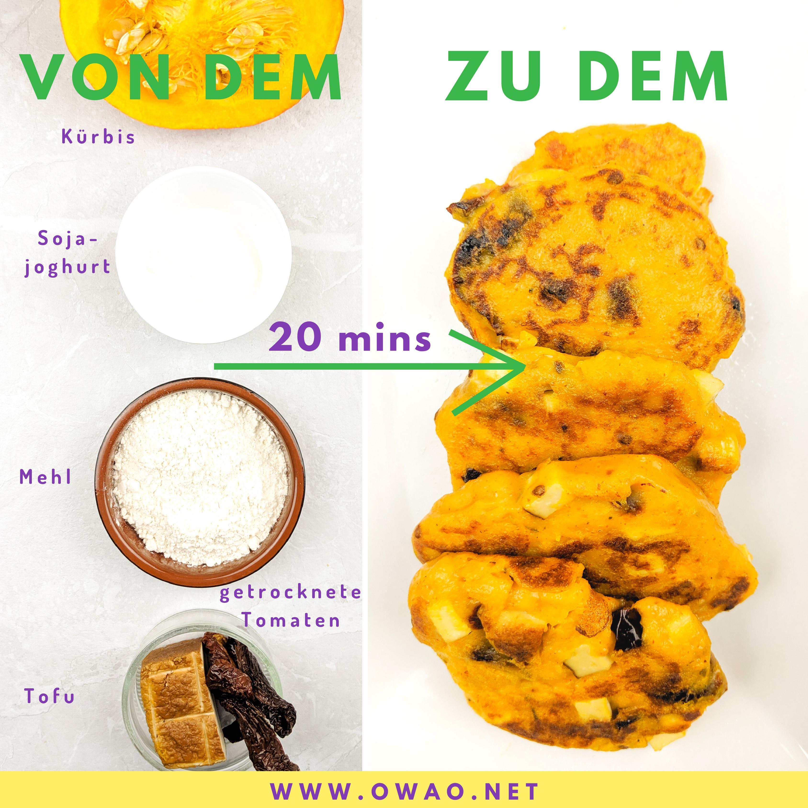 Kürbispüree-OWAO-Kürbisrezept-Meal Prep-Meal Prep vegan