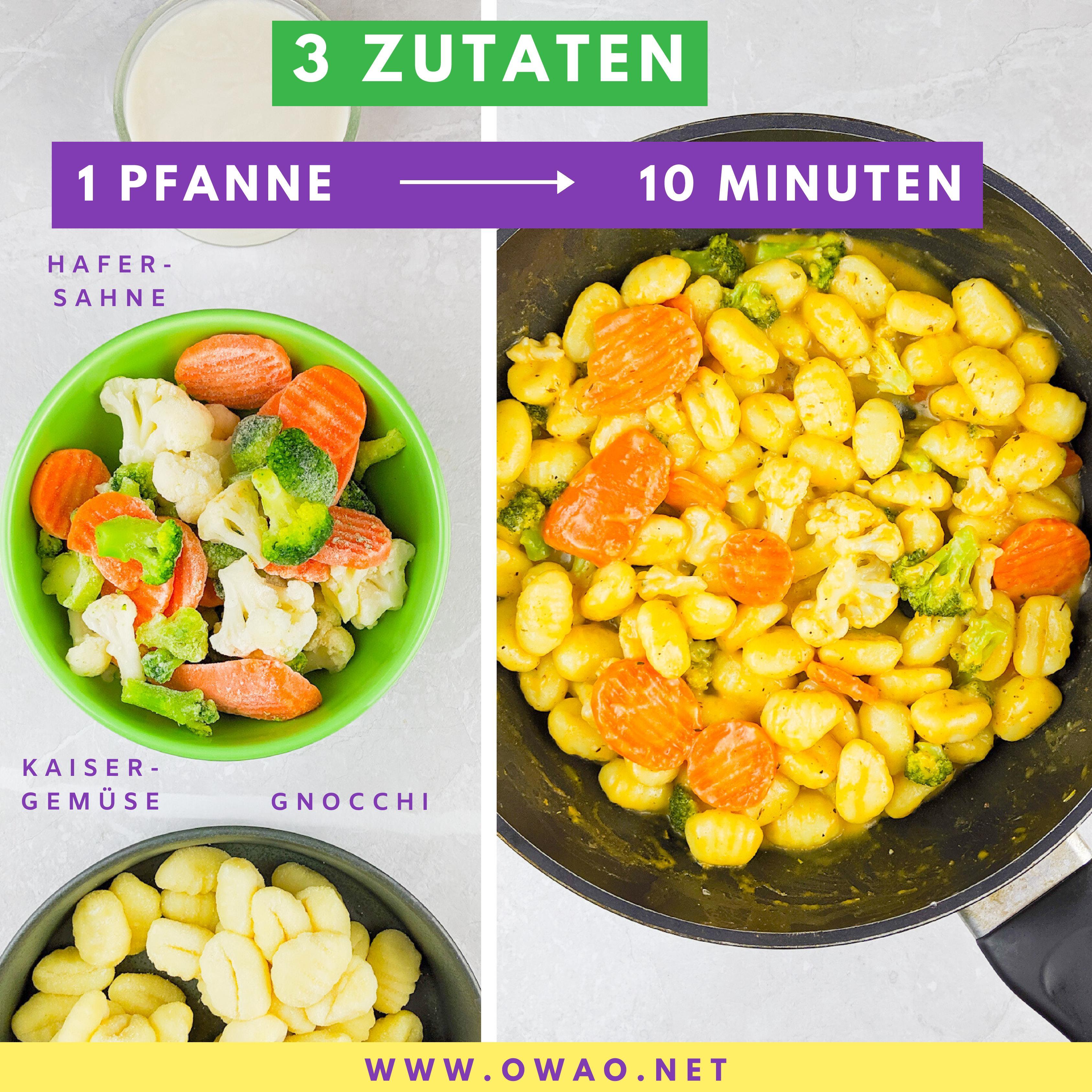Schnelles Abendessen-OWAO!-Meal Prep-Meal Prep vegan-Ernährung für Vielbeschäftigte