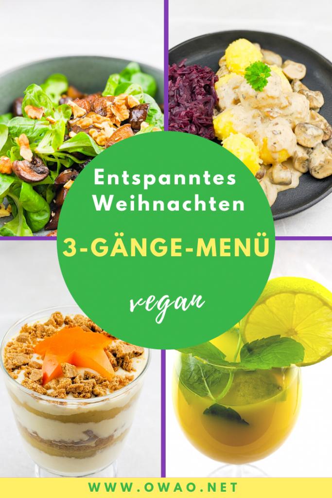 Veganes Weihnachtsmenü-OWAO-Meal Prep-Meal Prep vegan