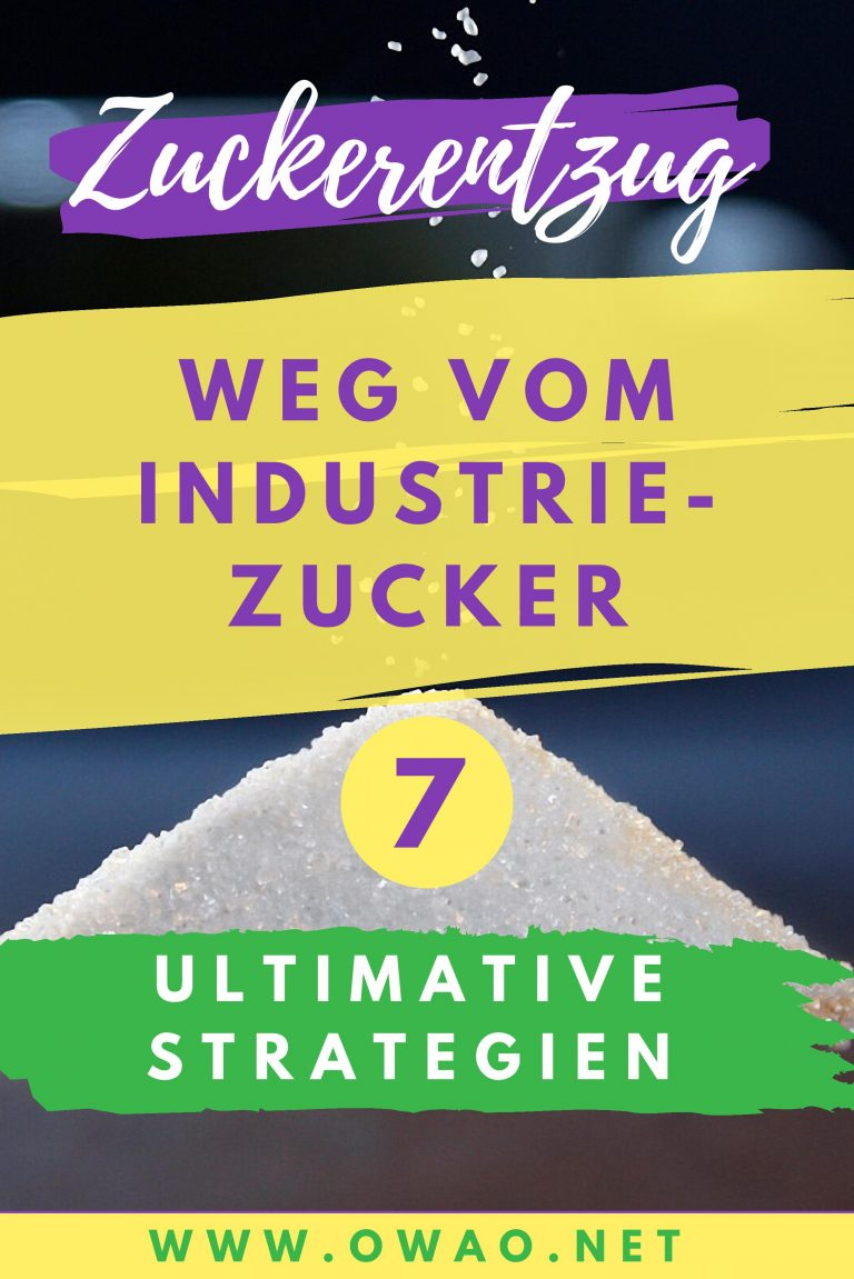 Zuckerentzug-Weg vom Industriezucker-Zucker-weglassen