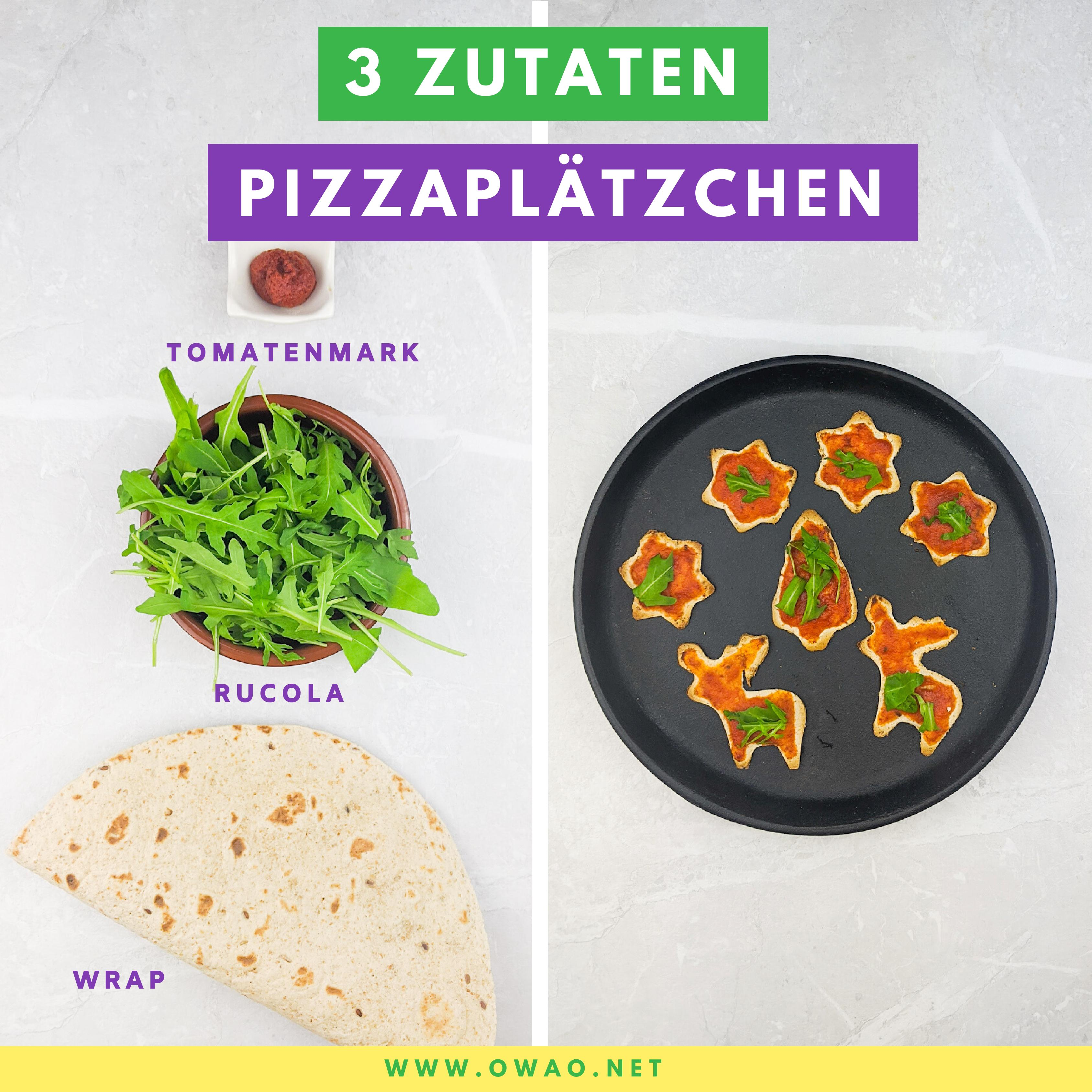 Weihnachtsplätzchen-Pizzaplätzchen-OWAO!-Meal Prep-Meal Prep vegan