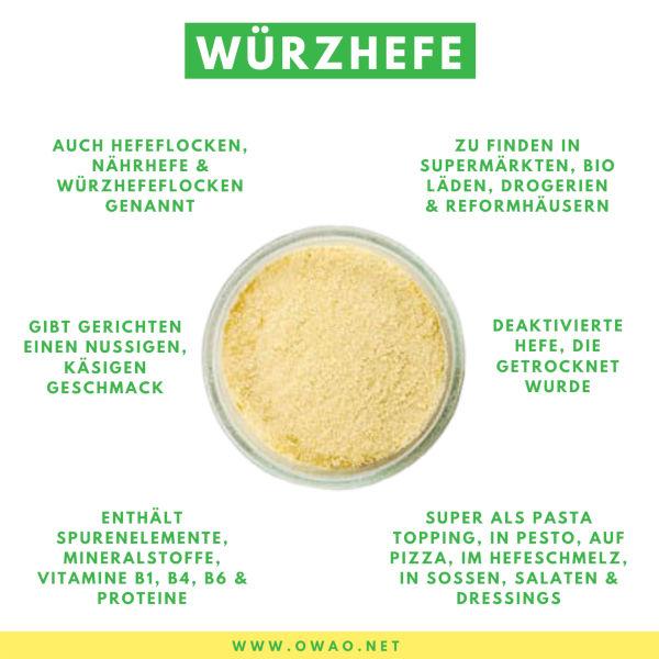 Nährstoffe-Würzhefe-OWAO!-Meal prep-Meal prep vegan