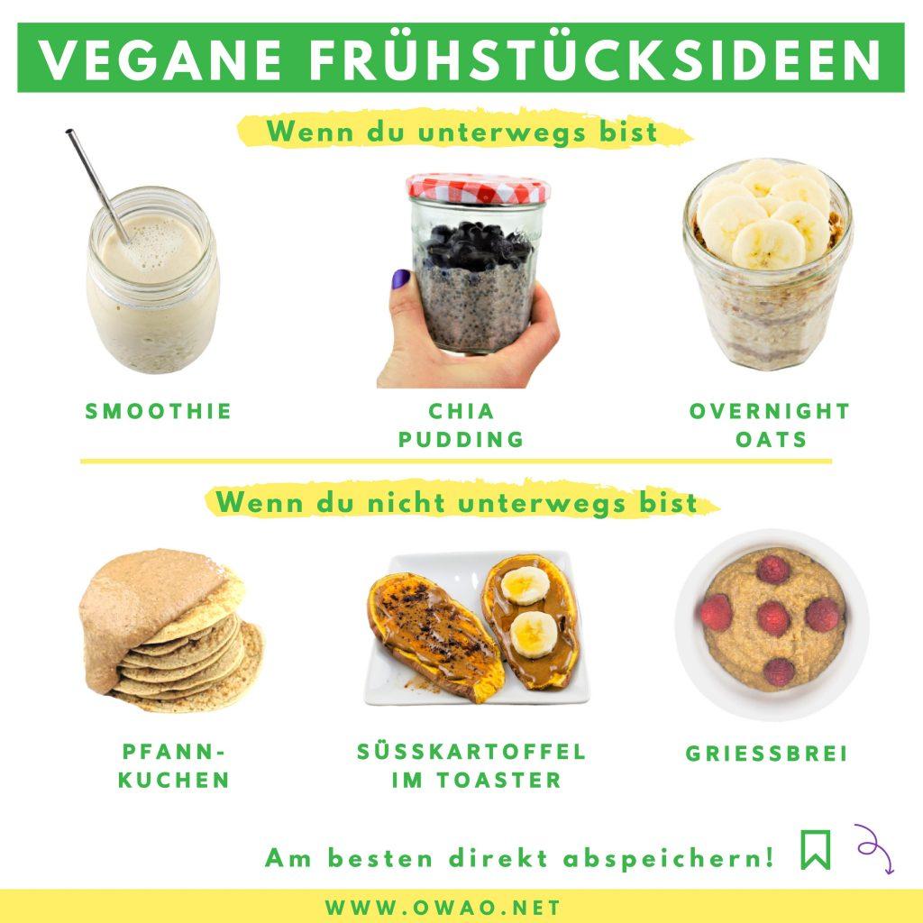 Veganes Frühstück-Meal Prep-to go-to stay-vegane Frühstücksideen-OWAO!-Ernährung für Vielbeschäftigte