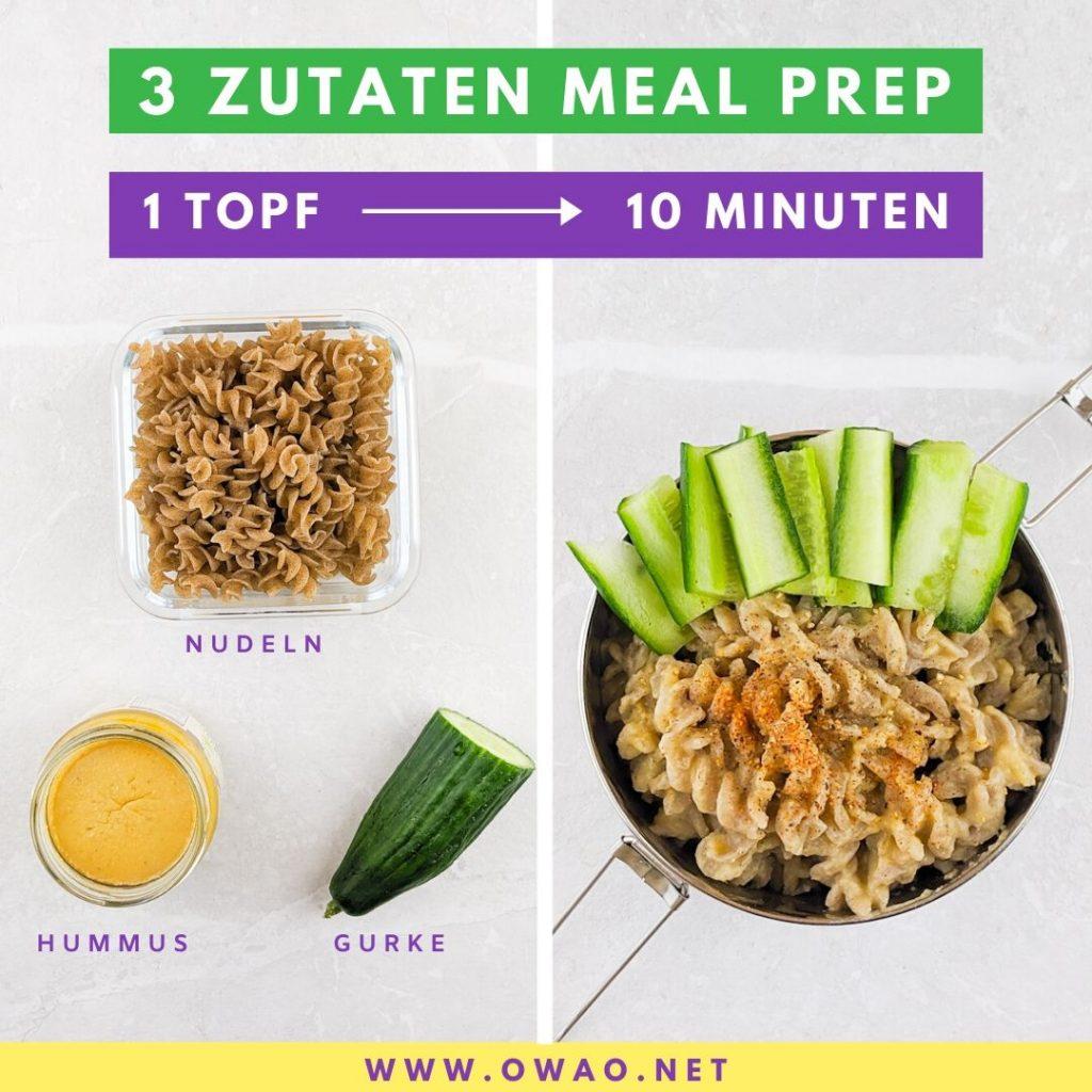 Veganes Mittagessen-Meal Prep-Meal Prep vegan-OWAO!