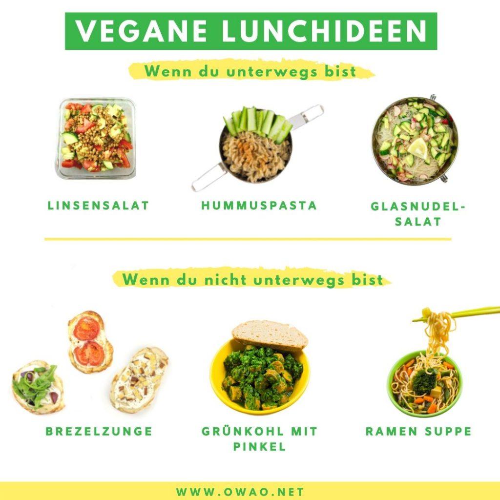 Veganes Mittagessen-Meal Prep-Meal Prep vegan-vegane Lunchideen-OWAO!-Ernährung für Vielbeschäftigte