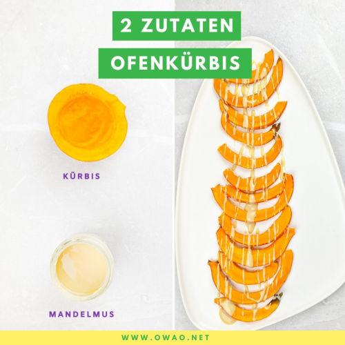 Kürbis im Ofen: Dieser Ofenkürbis schmeckt göttlich!