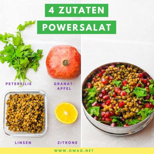 Linsensalat: Protein-Powersalat mit fruchtiger Note