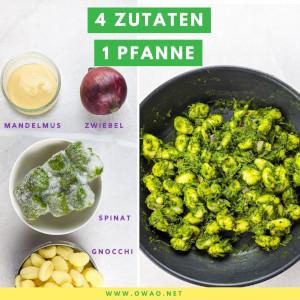 One Pot Pasta Spinat: Diese Gnocchi Pfanne ist genial!