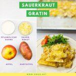 Veganes Abendessen: Dieser Sauerkraut-Gratin hat's in sich!