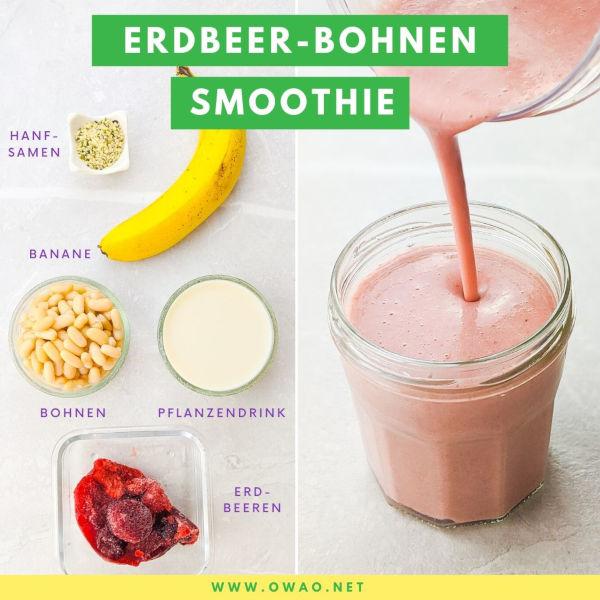 Protein Shake selber machen: Veganer Shake ohne Proteinpulver