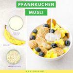 Vegane Bananen Pancakes: Probier unbedingt dieses Pfannkuchen Müsli!