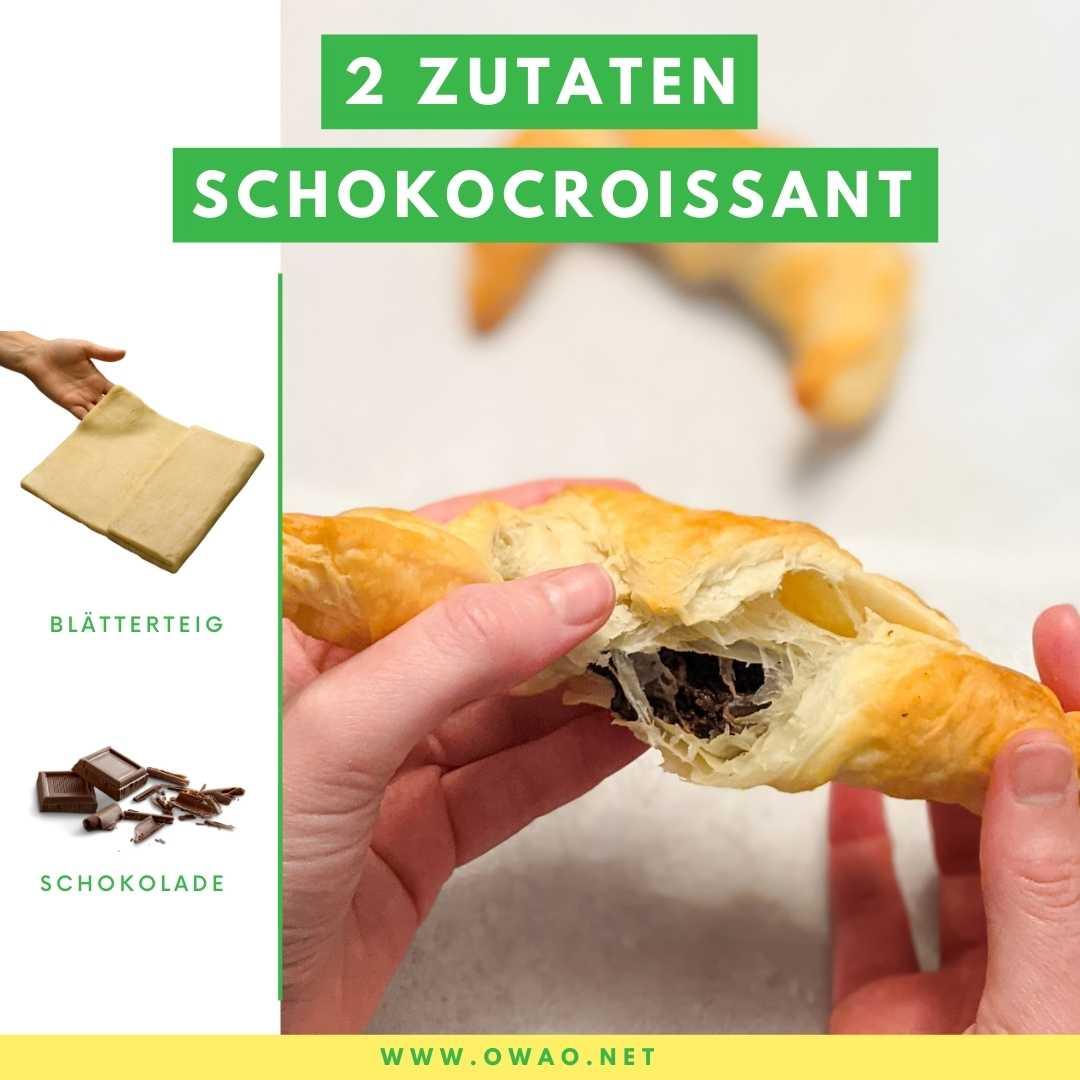 Sind Croissants vegan? Geniale vegane Schokocroissants