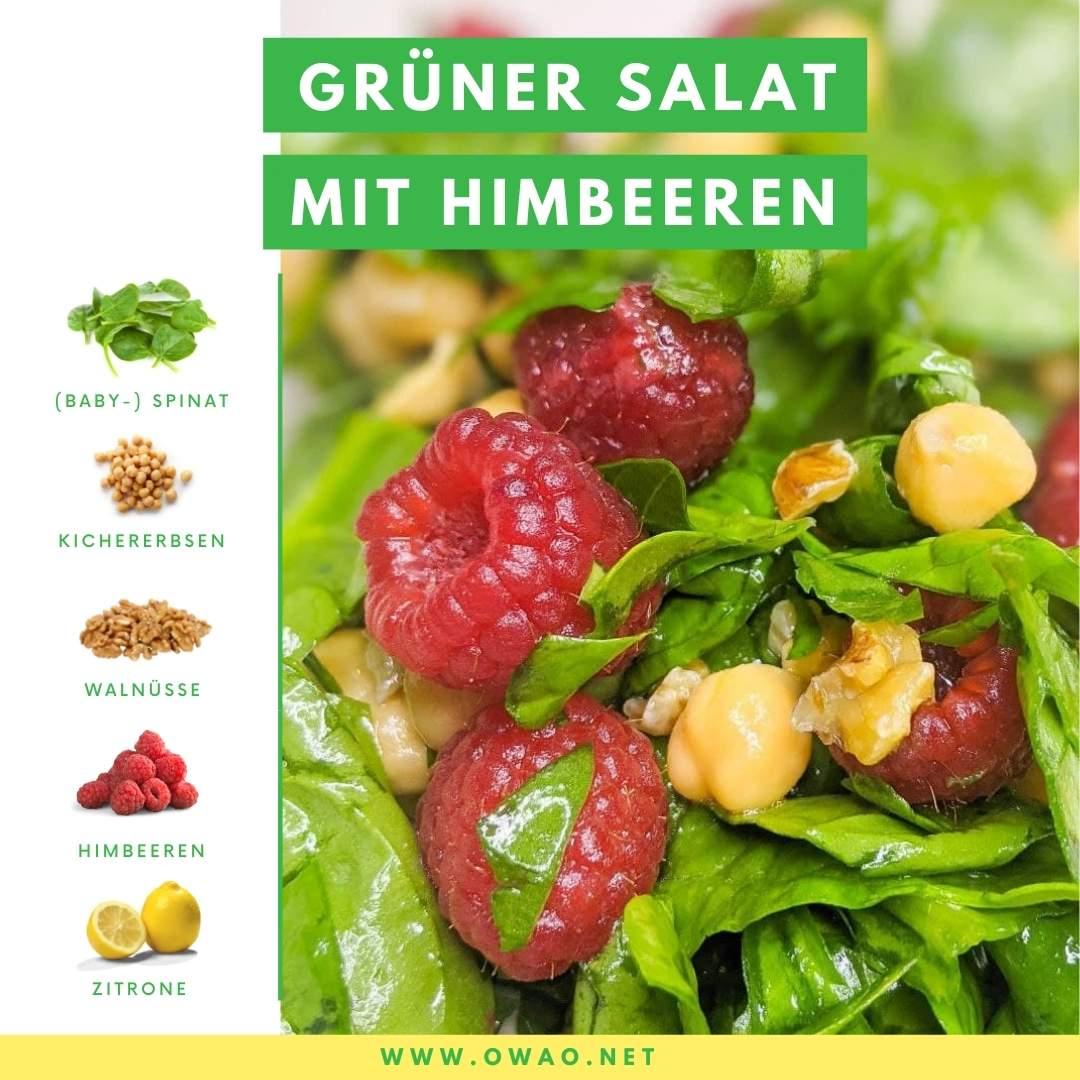 Grüner Salat Rezept: Dieser grüne Salat ist schnell & einfach!